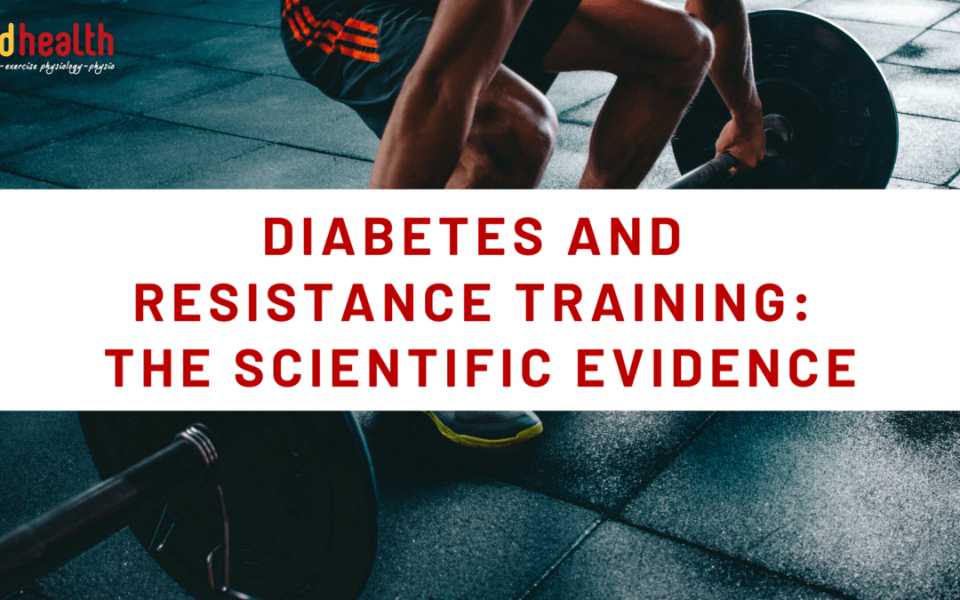 Diabetes and resistance training: The Scientific Evidence